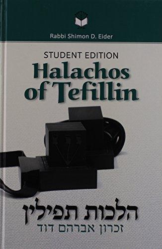 9781583300497: Halachos of Tefillin, Student Edition
