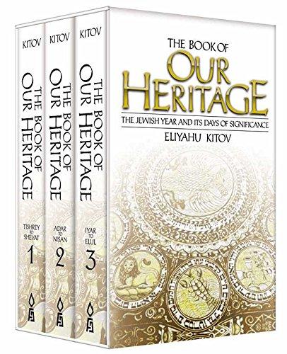 Book of Our Heritage (Box Set): Kitov, Eliyahu