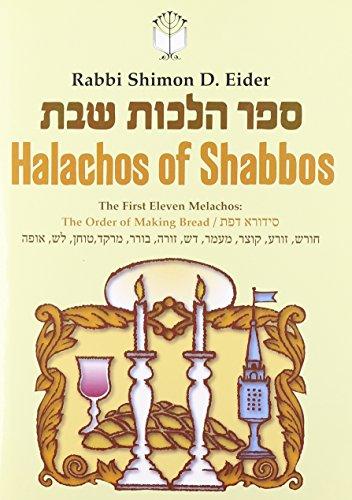 Halachos of Shabbos: rabbi Shimon D.