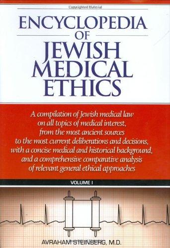 9781583305928: Encyclopedia of Jewish Medical Ethics