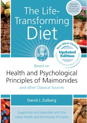 9781583309414: The Life-Transforming Diet: Based on Health and Psychological Priniples of Maimonides and other Classical Sources