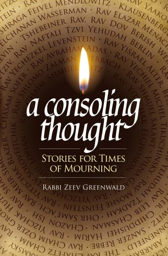 9781583309681: A Consoling Thought: Stories for Times of Mourning