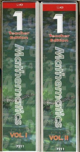 9781583311813: Mathematics Grade One Teacher Edition (Enabling Educators Series, Volumes 1 and II)
