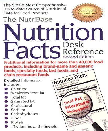 9781583330012: The NutriBase Nutrition Facts Desk Reference