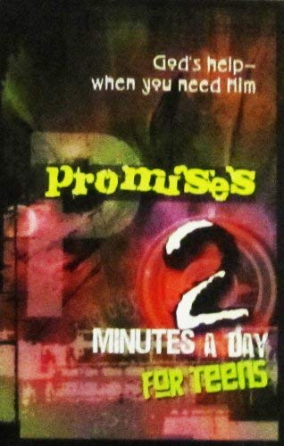 Promises 2 Minutes a Day for Teens: Family Christian Press