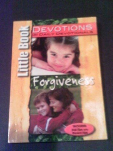 9781583342244: Little Book Devotions 31 Daily Devotionals (Forgiveness)