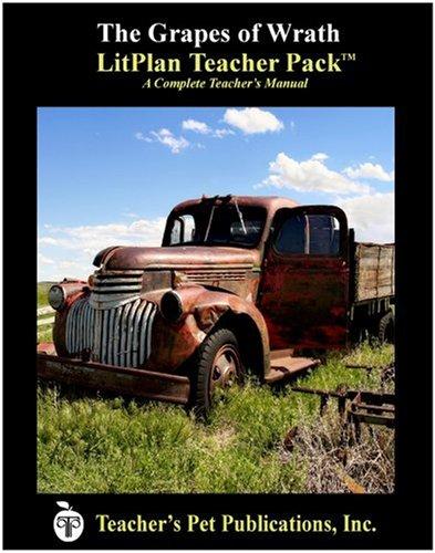 9781583370476: The Grapes of Wrath : A Unit Plan (Litplans on CD)