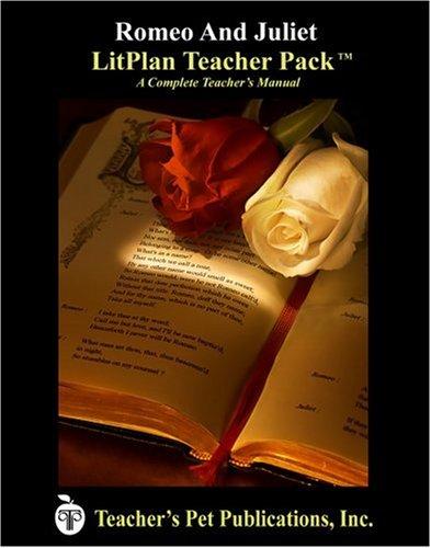 9781583371282: Romeo and Juliet LitPlan - A Novel Unit Teacher Guide With Daily Lesson Plans (LitPlans on CD)