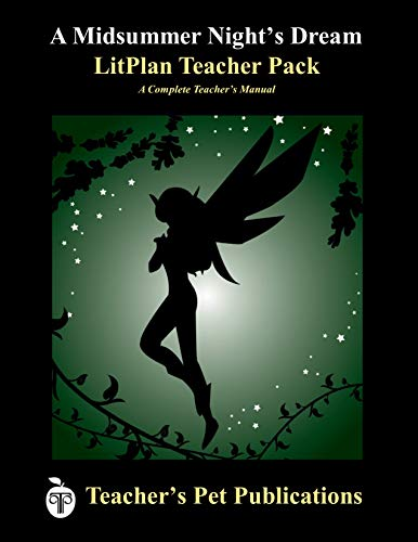 A Midsummer Night's Dream LitPlan - A Novel Unit Teacher Guide With Daily Lesson Plans (...
