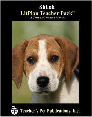 9781583372432: Shiloh LitPlan - A Novel Unit Teacher Guide With Daily Lesson Plans (LitPlans on CD)
