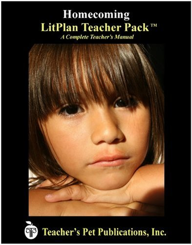 9781583372456: Homecoming LitPlan - A Novel Unit Teacher Guide With Daily Lesson Plans (LitPlans on CD)
