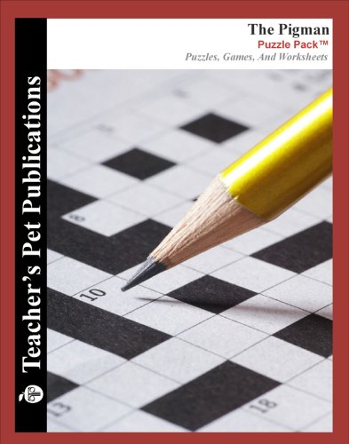 9781583378427: The Pigman Puzzle Pack - Teacher Lesson Plans, Activities, Crossword Puzzles, Word Searches, Games, and Worksheets (PDF on CD)