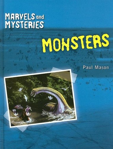 Monsters (Marvels and Mysteries): Mason, Paul