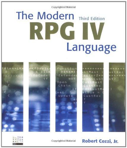 9781583470428: The Modern RPG IV Language, 3rd Edition