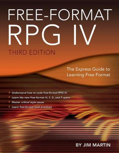 Free-Format RPG IV: Martin, Jim