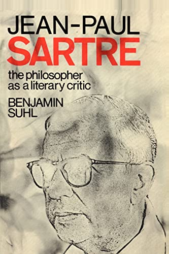 9781583482780: Jean-Paul Sartre: The Philospher as a Literary Critic