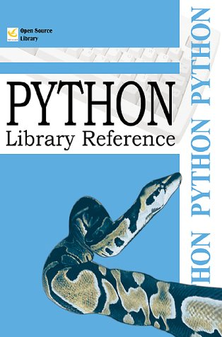 9781583483732: Python Library Reference (Open Source Library)