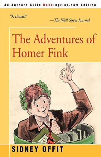 9781583483800: The Adventures of Homer Fink