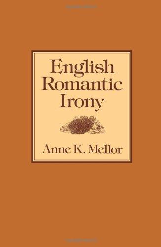 9781583484128: English Romantic Irony