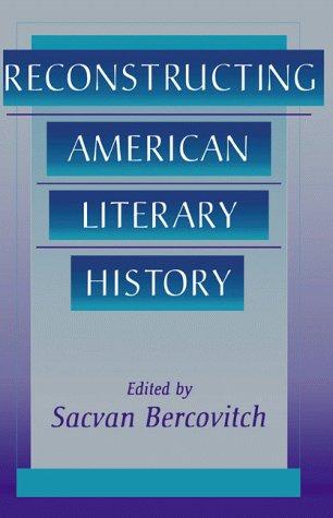 9781583484166: Reconstructing American Literary History (Harvard English Studies)