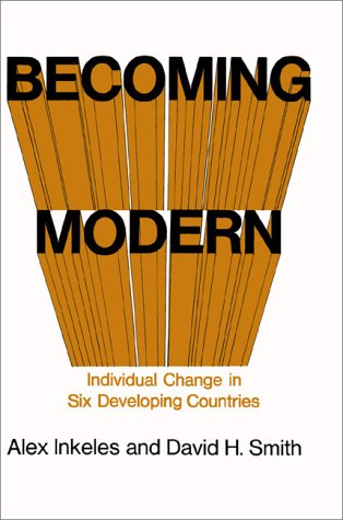 9781583485293: Becoming Modern: Individual Change in Six Developing Countries