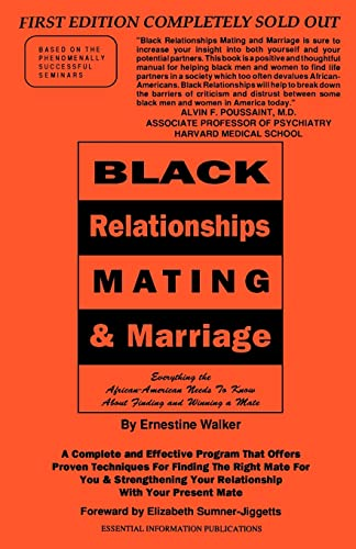 9781583485668: Black Relationships: Mating & Marriage