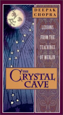 9781583500323: Deepak Chopra - The Crystal Cave - Lessons From the Teachings of Merlin [VHS]