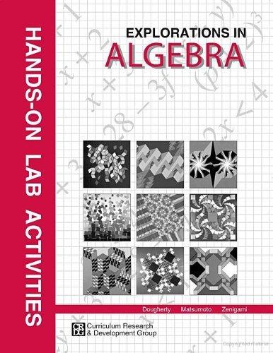 9781583510216: Explorations in Algebra Hands on Lab Activities