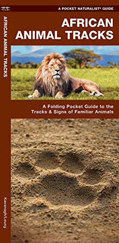African Animal Tracks: A Folding Pocket Guide: James Kavanagh