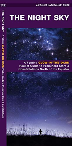 9781583550878: The Night Sky: A Glow-in-the-Dark Guide to Prominent Stars & Constellations North of the Equator (Sky Watcher Guide)