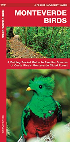 Monteverde Birds: A Folding Pocket Guide to: James Kavanagh