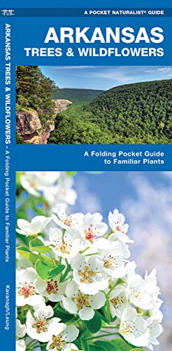9781583554043: Arkansas Trees & Wildflowers: A Folding Pocket Guide to Familiar Plants (A Pocket Naturalist Guide)