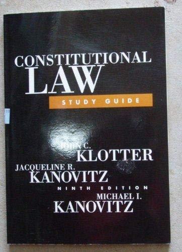 9781583605387: Constitutional Law