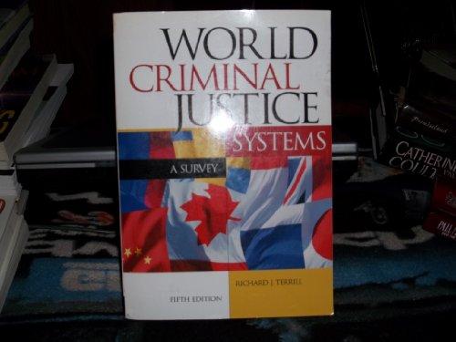 9781583605400: World Criminal Justice Systems: A Comparative Survey