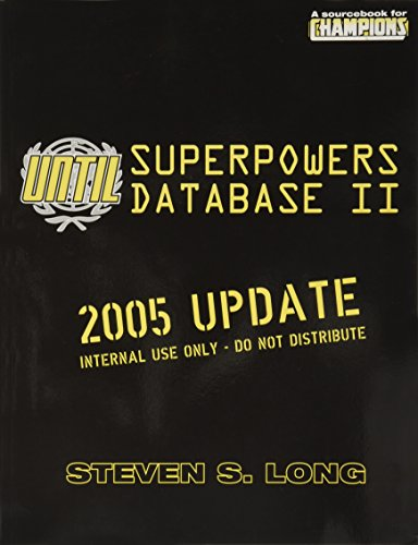 9781583660485: UNTIL Superpowers Database II