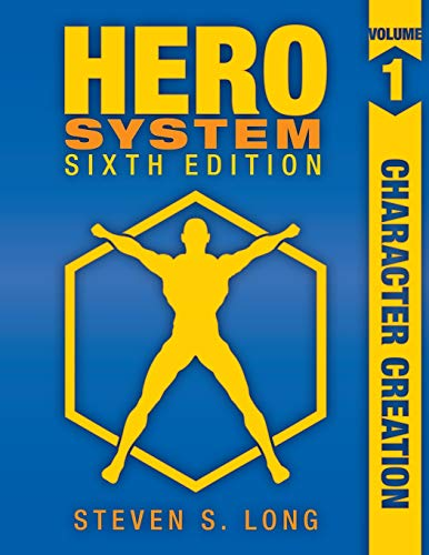 9781583661208: Hero 6th Edition Rpg Character Creation