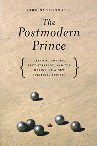 Postmodern Prince-Critical Theory, Left Strategy, And The Making Of A New Political Subject: John ...