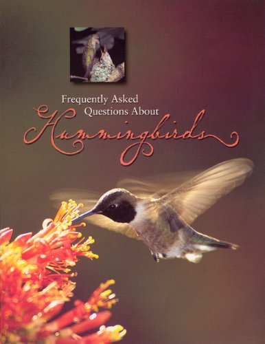 9781583690918: Frequently asked Questions About Hummingbirds