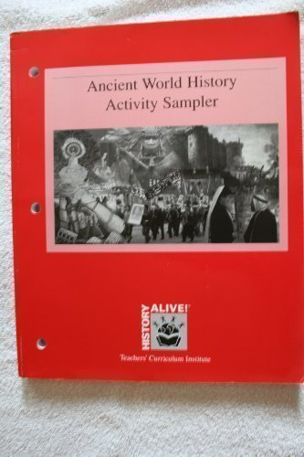 9781583710203: History alive: Ancient World History Activity Sampler