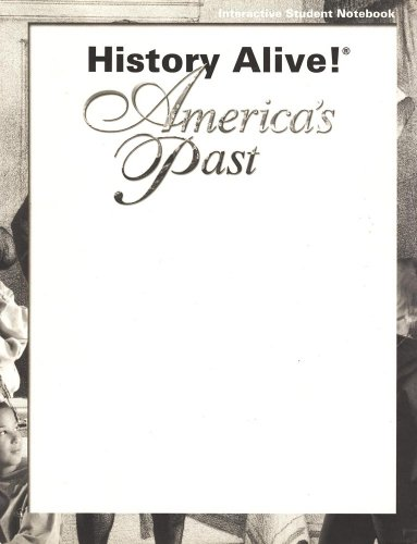 9781583710401: History Alive!: America's Past (Interactive Student Notebook)