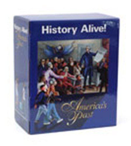 9781583710517: 5th Grade History Alive Americas Past Teacher Resources Kit Grade 5 Teacher Edition Lesson Guide Transparencies Placards Interactive Desk Map Student Edition Audio CD Interactive Notebook