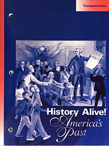 9781583710586: History Alive! Transparencies (America's Past)
