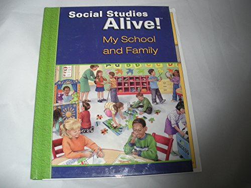 9781583712511: Social Studies Alive: My School And Family (Interactive Student Notebook)