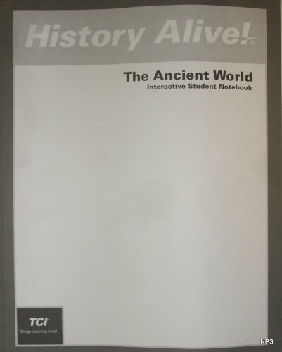 9781583713587: History Alive!: The Ancient World (Interactive Student Notebook)