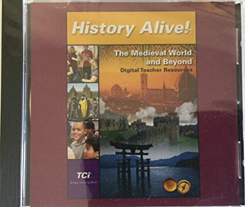 9781583713839: History Alive! The Medieval World and Beyond: Digital Teacher Resources [CD-ROM]