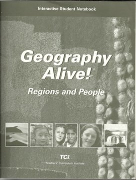 9781583714331: Geography Alive! Regions and People, Interactive Student Notebook