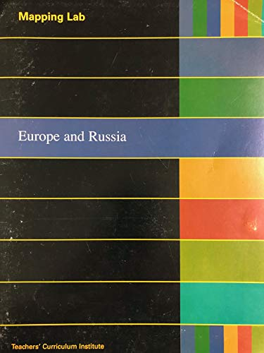 9781583714386: Mapping Lab Europe and Russia (Geography Alive! Regions and People)