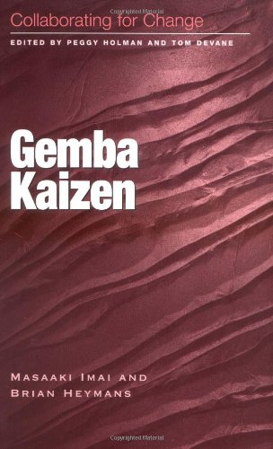 9781583760383: Gemba Kaizen: Collaborating for Change