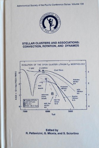 9781583810255: Stellar Clusters and Associations: Convection, Rotation, and Dynamos (Astronomical Society of the Pacific Conference Series)