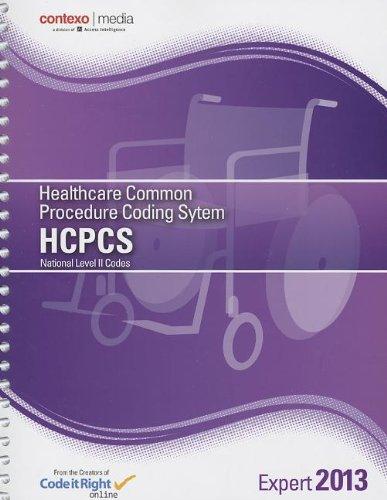 9781583837535: 2013 HCPCS Level II Expert